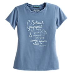 National Geographic Women's Logo T-shirt