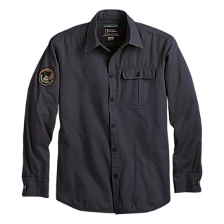 View National Geographic Cotton Twill Buttondown image