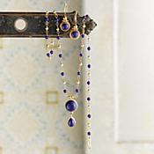 Indian Lapis Lazuli Earrings