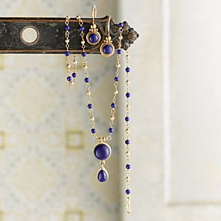 Indian Lapis Lazuli Earrings
