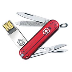 Victorinox 4GB USB Key Ring Multitool, Made in Switzerland