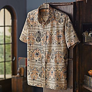 View Men's Shekhawati Cotton Shirt image