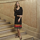 Black Bandhani Dress