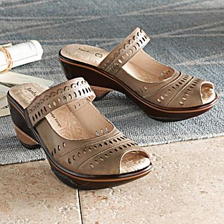 View Women's Filigree Travel Sandals image