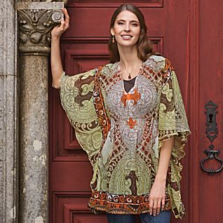 View Paisley Flutter Tunic image