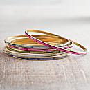 Mother of Pearl Bangles - Set of 6