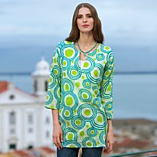 100% Cotton Indian Raindrop Tunic