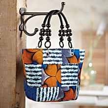 Ankara Sunrise Handbag, Made in Nigeria