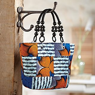 View Ankara Sunrise Handbag image