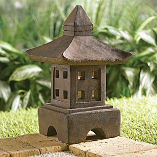 View Indonesian Stone Garden Lantern image