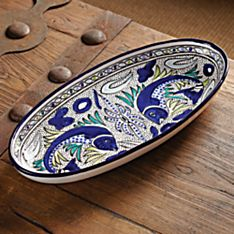 Handcrafted Tunisian Fish Platter