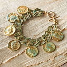 Handcrafted Ship's Treasure Bracelet