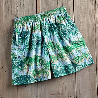 View Hawaiian Tropical Swim Shorts image