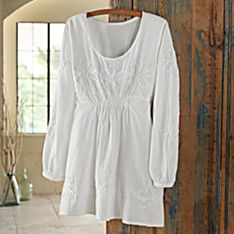Womens Cotton Tunic Shirt