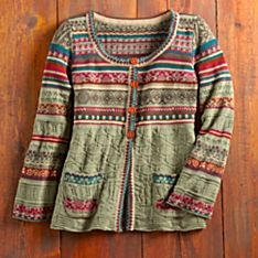 Women's Pirot Cotton Cardigan