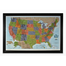 National Geographic ''Light Your Way'' Customizable U.S. Map (Classic)
