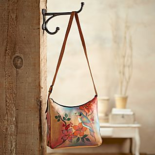 View Gudavi Hand-painted Leather Bag image