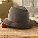 Crushable Oilskin Travel Hat