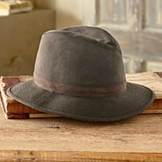 Imported Crushable Oilskin Travel Hat