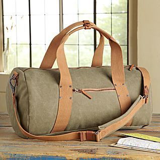 View Waxed Canvas Travel Bag image