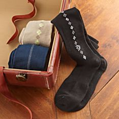 Men's Compression Travel Dress Socks