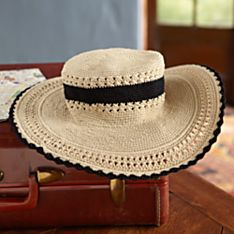 Balinese Crushable Sunhat