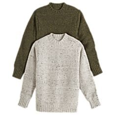 Handwoven Donegal Walking Sweater