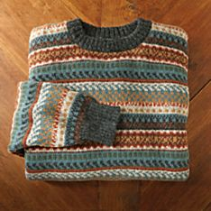 Men's Camino Inca Alpaca Sweater