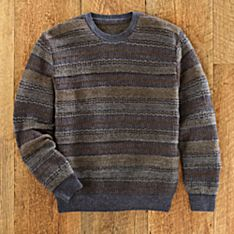Men's Intipata Alpaca Crew-Neck Sweater