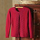 Peruvian Kantuta Cardigan Sweater