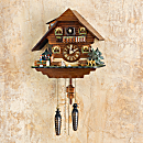 Black Forest Dancers Cuckoo Clock
