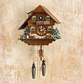 View Black Forest Dancers Cuckoo Clock image