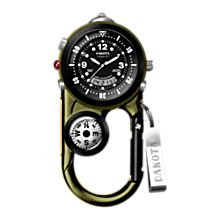 Clip Watch with Compass