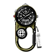 Clip on Watch with Compass