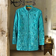 Silk Designer Jackets/Womens