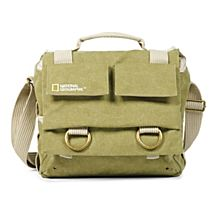 Canvas Earth Explorer Messenger Bag