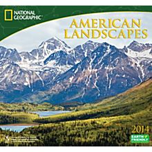 2014 National Geographic American Landscapes Wall Calendar