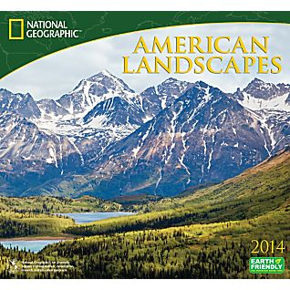 View 2014 National Geographic American Landscapes Wall Calendar image