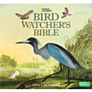 2014 National Geographic Bird Watcher's Bible Wall Calendar