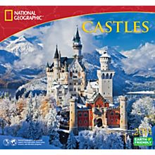 2014 National Geographic Castles Wall Calendar