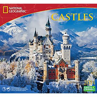 View 2014 National Geographic Castles Wall Calendar image