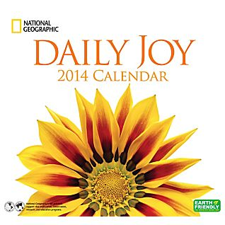 View 2014 National Geographic Daily Joy Wall Calendar image