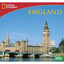 2014 National Geographic England Wall Calendar
