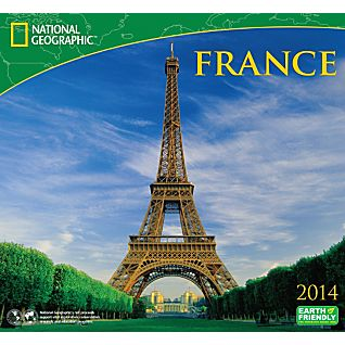 View 2014 National Geographic France Wall Calendar image