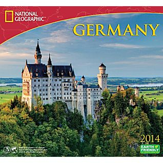 2014 National Geographic Germany Wall Calendar