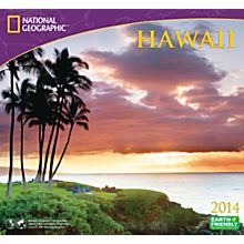 2014Hawaii Wall Calendar