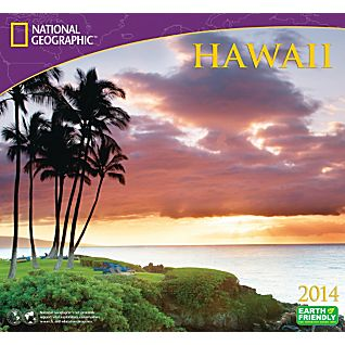 View 2014 National Geographic Hawaii Wall Calendar image