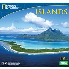 2014 National Geographic Islands Wall Calendar