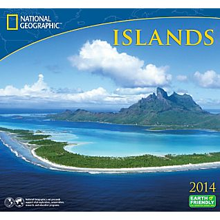 View 2014 National Geographic Islands Wall Calendar image