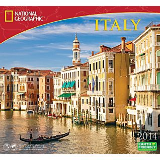 View 2014 National Geographic Italy Wall Calendar image